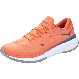 Hoka One One Cavu 3 Schoenen Heren, mandarin red/white